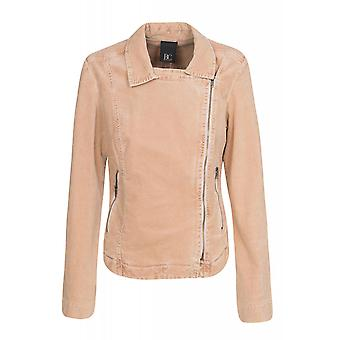 B.C.. best connections by heine Biker jacket women's corduroy jacket pink plus size