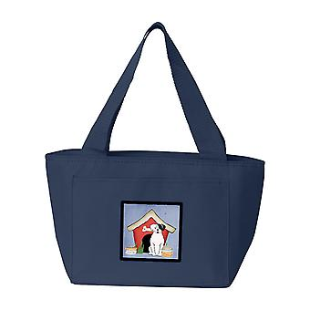 Dog House Collection White Boxer Cooper Lunch Bag
