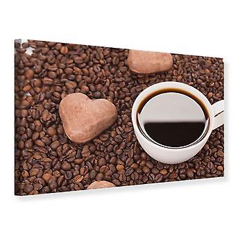 Canvas Print Lovely Coffee Break