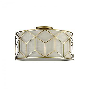 Maytoni Lighting Messina House Collection Ceiling Lamp, Gold