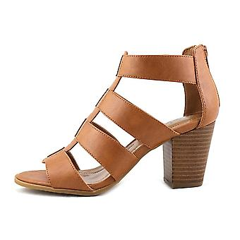 Style & Co. Womens janinaa Leather Open Toe Casual Strappy Sandals