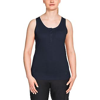 Jack Wolfskin Women's Top Essential Sleeveless with Organic Cotton