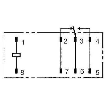 PCB relays 24 Vdc 12 A 1 change-over Omron G2RL-1-