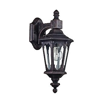 Maytoni oświetlenie Oxford odkryty czarny naścienna latarnia trener