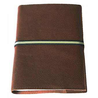 Coles Pen Company Roma Large Lined Journal - Dark Brown