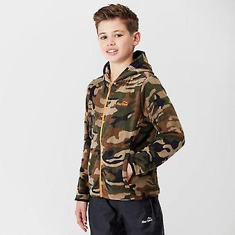Peter Storm Boy's Full-Zip Camo II Fleece Khaki