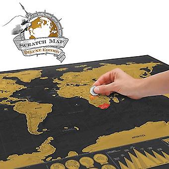 World Map Scratchie Deluxe Edition