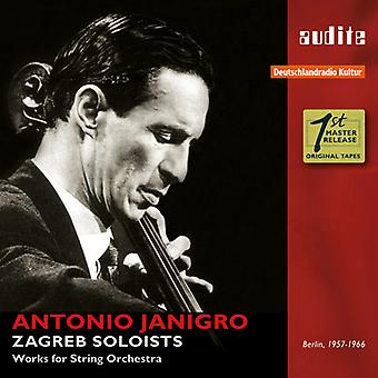 Corelli / Zagreb Soloists / Janigro - Antonio Janigro & the Zagreb Soloists - Works for [CD] USA import