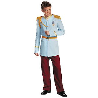 Prince Charming Prestige Deluxe Disney Princess Story Book Week Men Costume XL