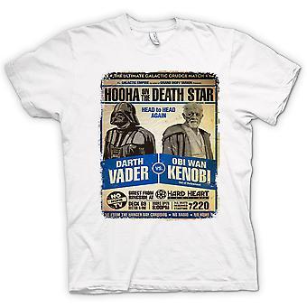 Womens T-shirt - Vader V Kenobi Grudge Match - Poster