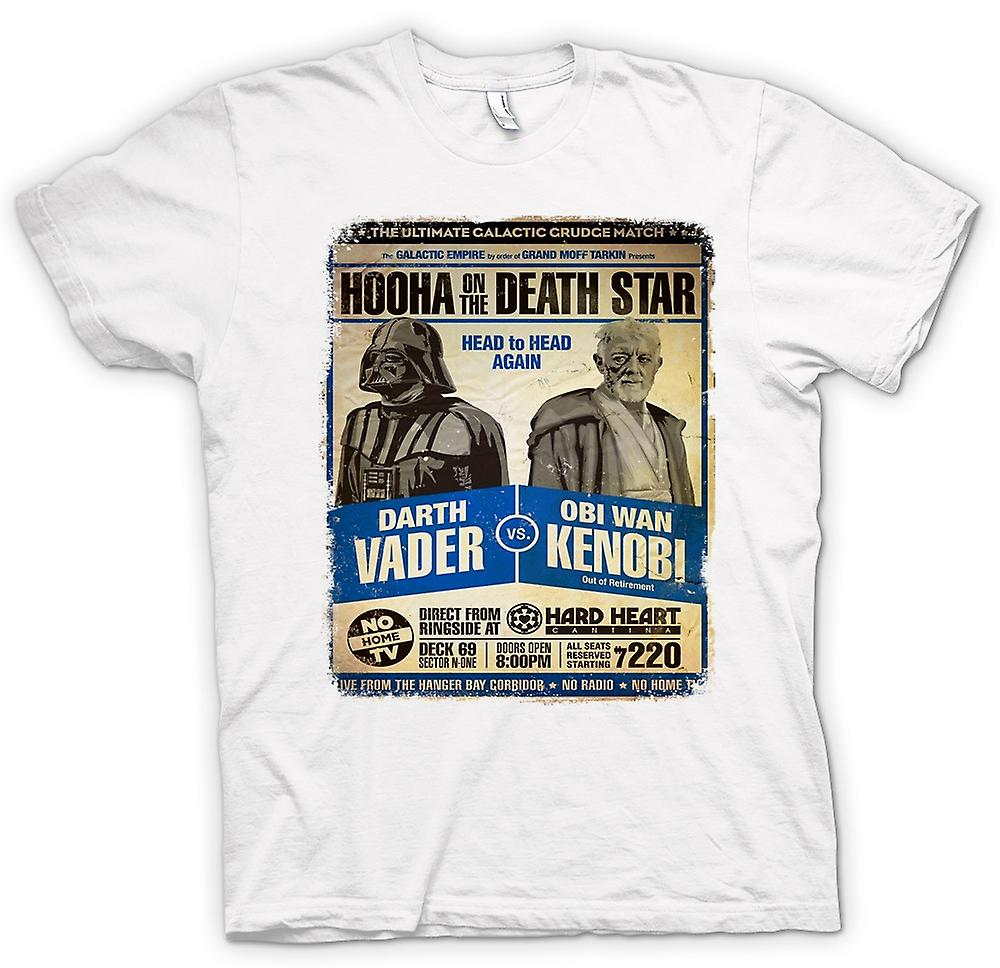 Womens T-shirt - Vader V Kenobi Grudge Match - Poster