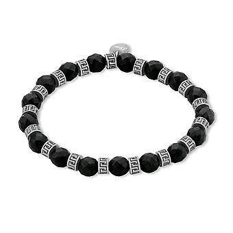s.Oliver jewel mens bracelet stainless steel Hematite black 2012602