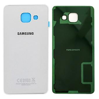 Samsung GH82-11020C Akkudeckel Deckel für Galaxy A5 2016 A510F + Klebepad Weiß