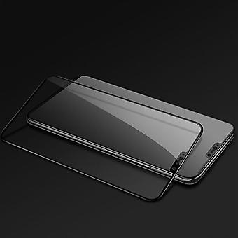 For OnePlus 6 six 3D premium 0.3 mm H9 hard glass black slide protection cover new