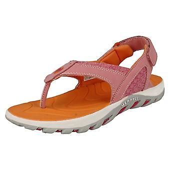 Girls Merrell Summer Toe Post Sandals Water Pro Plunge