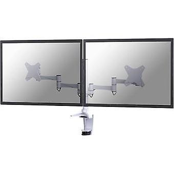 NewStar FPMA-D1330DWHITE 2x Monitor desk mount 25,4 cm (10) - 68,6 cm (27) Swivelling/tiltable, Swivelling