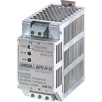 TDK-Lambda DLP-75-24-1/E Rail mounted PSU (DIN) 24 Vdc 3.1 A 75 W 1 x