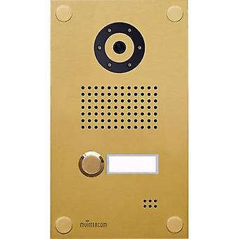 myintercom myi0004 IP video door intercom LAN Outdoor panel Detached Gold