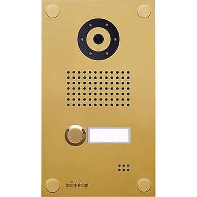 myintercom myi0004 IP video door intercom LAN Outdoor panel Detached Gold