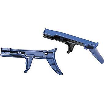 HellermannTyton 110-21016 MK21 Cable Tie Gun Blue, Black