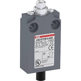 Limit switch 400 V AC 5 A Tappet momentary ABB LS21P11B11-P01 IP67 1 pc(s)