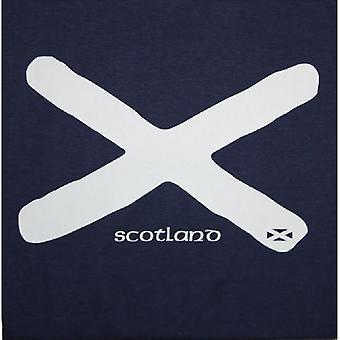 Union Jack Wear Scotland Saltire Flag T Shirt