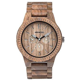 WeWood Mens Kappa Nut Wooden Brown Strap 70315700 Watch
