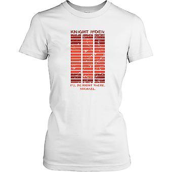 Knight Rider - być prawo tam - KITT Panie T Shirt