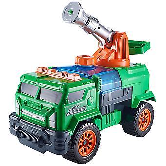 Matchbox Aqua Cannon Swamp Blaster Rig Green