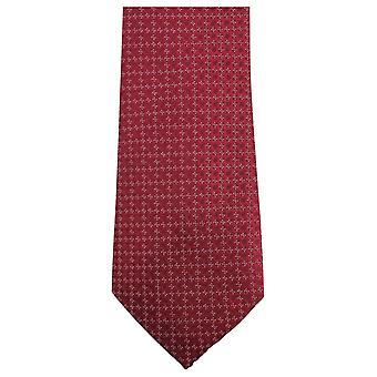 Knightsbridge Neckwear Small Floral Tie - Red