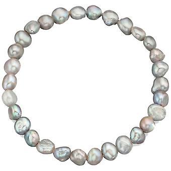 Débuts de perle d'eau douce cultivées Bracelet - blanc