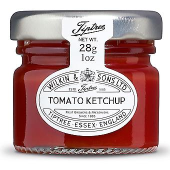 Tiptree Tomatenketchup Portionen Töpfe