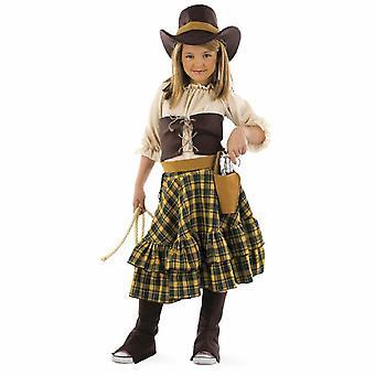 Brigand girl costume Cowgirl Western Lady child costume