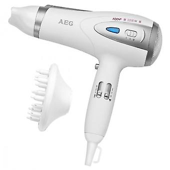 AEG Htd 5584 White / metallic (Hair care , Hairdryers)