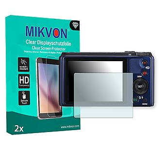 Casio Exilim EX-ZR850 Screen Protector - Mikvon Clear (Retail Package with accessories)