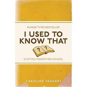 Jag brukade veta-saker du glömde från skolan av Caroline Taggart