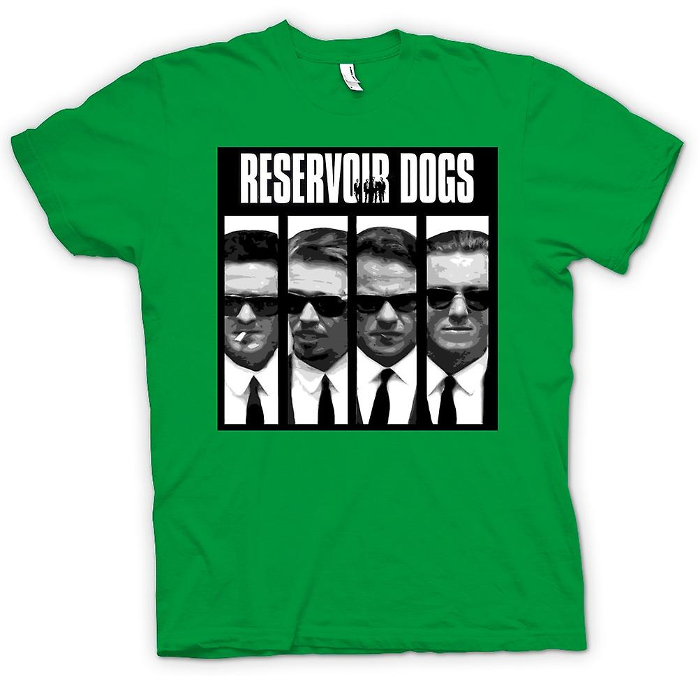 Mens T-shirt - Reservoir Dogs - Collage And Words