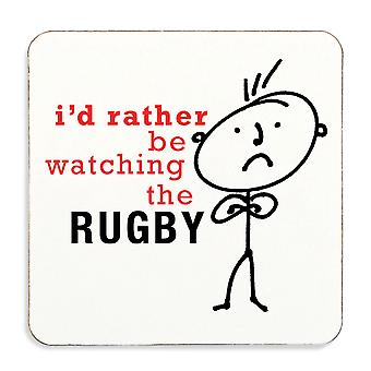 Jeg vil heller se Rugby Coaster Cork tilbake