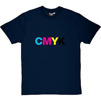 Camiseta CMYK hombres