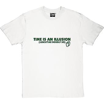 Time is an Illusion (Lunchtime Doubly So) Men's T-Shirt