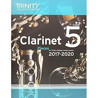 Clarinet Exam Pieces Grade 5 2017 2020 (Score & Part)