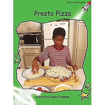 Pizza Presto: Level 4: Early (Red Rocket Readers: Non-fiction Set B)