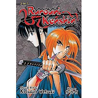 Rurouni Kenshin (3-i-1 utgåva), Vol. 5: inkluderar Vols. 13, 14 & 15 (Rurouni Kenshin 3-i-1)