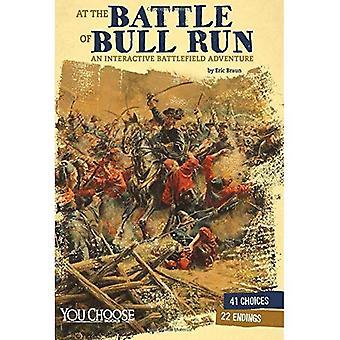 In de slag bij Bull Run: een interactieve slagveld avontuur
