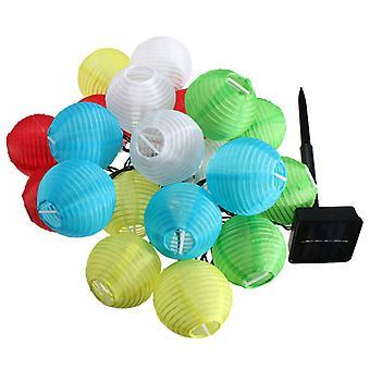 الفوانيس الملونة LED الشمسية
