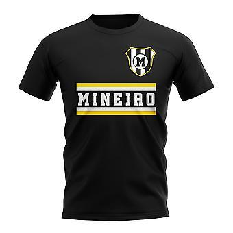 Atlético Mineiro núcleo Fútbol Club camiseta (negro)