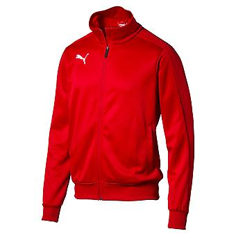 PUMA League casuals track top Jr kids jacket Red