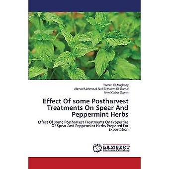Effect Of some Postharvest Treatments On Spear And Peppermint Herbs by ElMoghazy Tamer