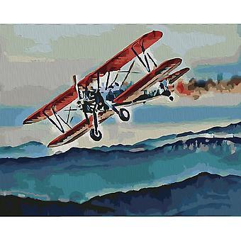 Artventura Flight uitgerekt canvas extra grote verf door nummers