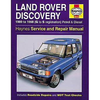 Land Rover Discovery Petrol and Diesel Owners Workshop Manual by Anon